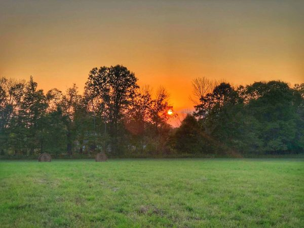 days end sunset